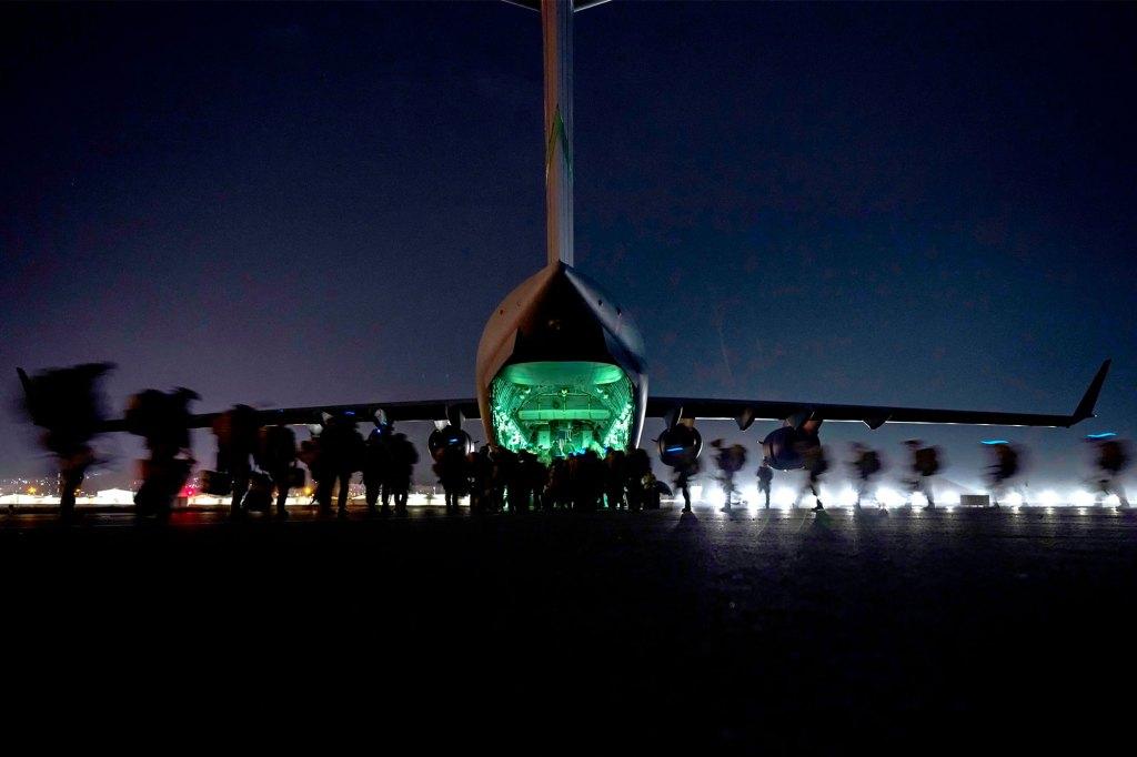 An Air Force plane