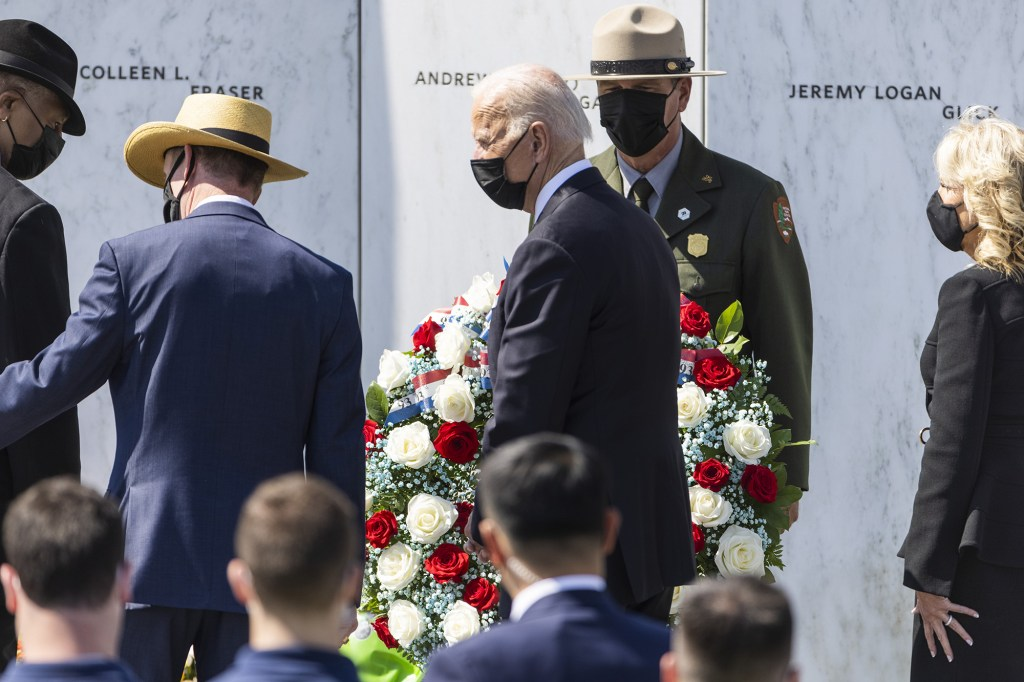 The Bidens visited Pennsylvania after a trip to NYC for the 9/11 anniversary.