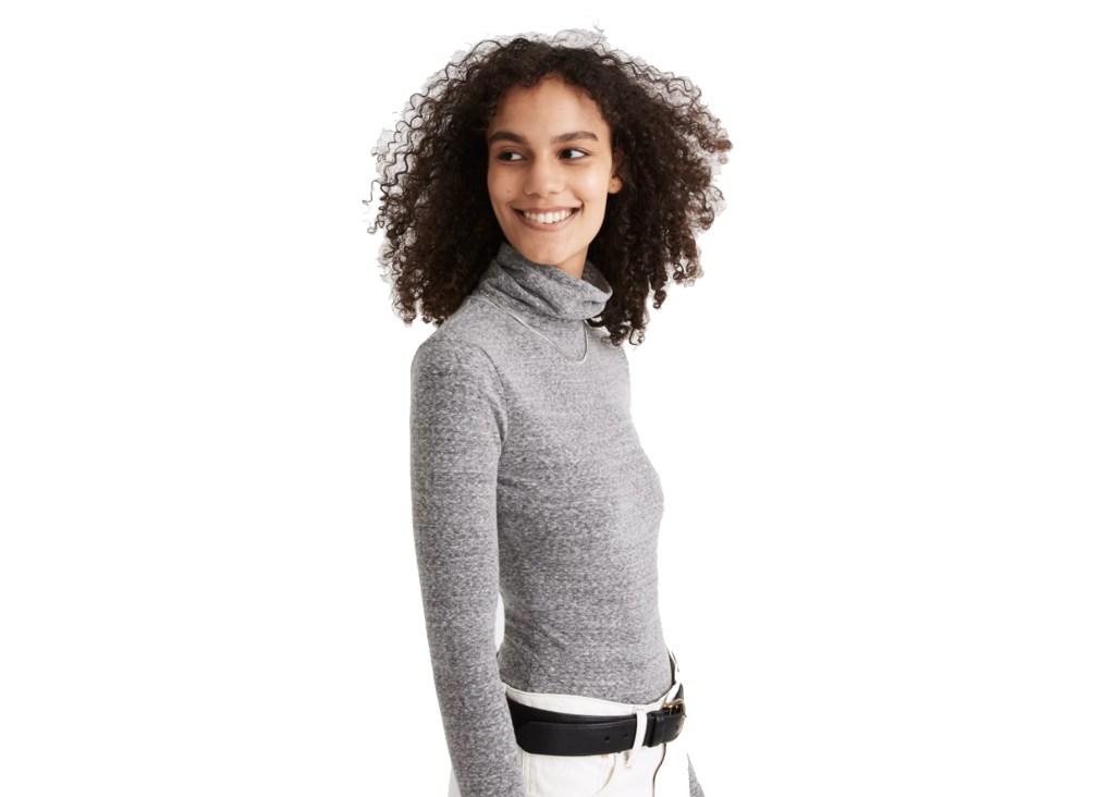 Madewell Turtleneck Bodysuit
