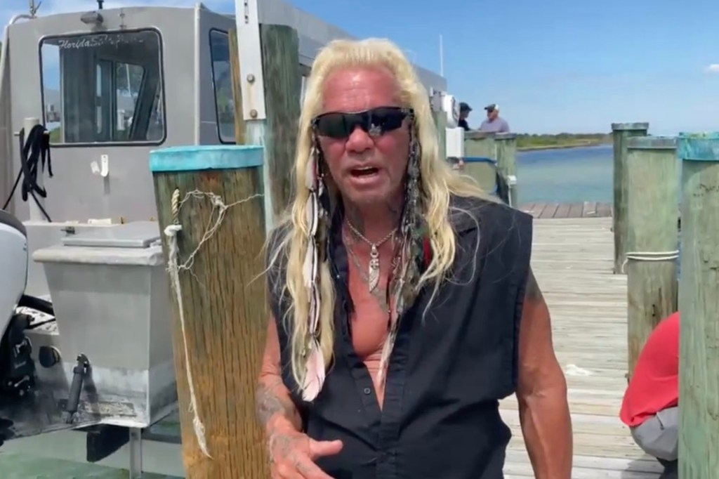 Dog the Bounty Hunter reportedly set up a home base in Florida to assist the search for Brian Laundrie.