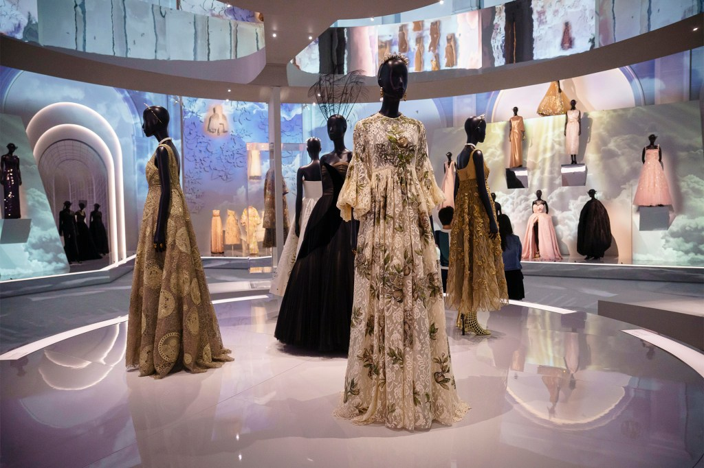 More dresses at the Christian Dior: Designer of Dreams exhibit at the Brooklyn Museum