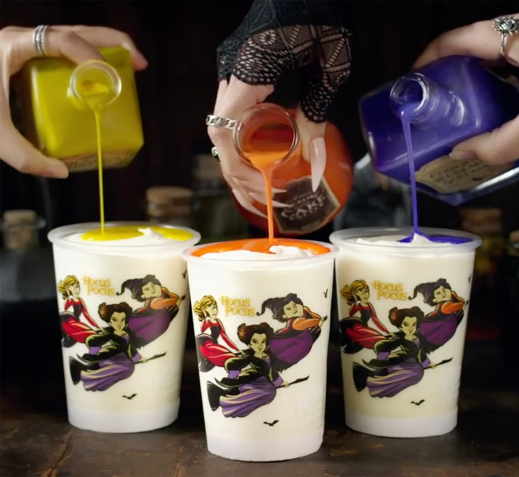 The limited-edition shakes are available from now until Oct. 31.