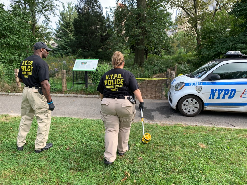 body found in central park