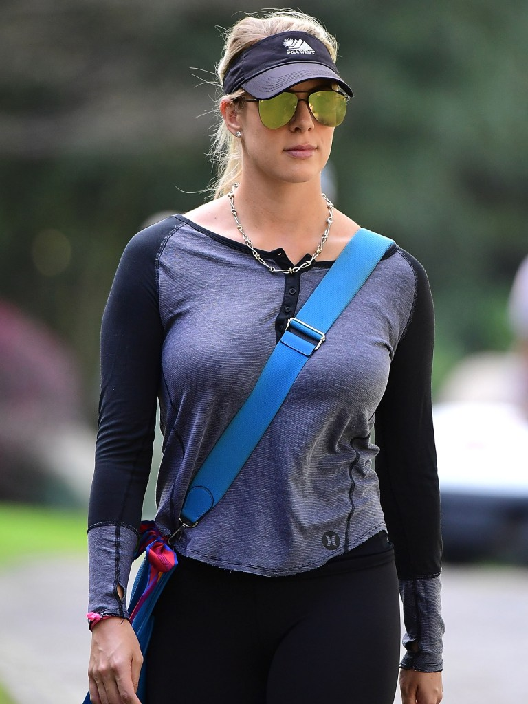 Rory McIlroy's wife, Erica Stoll.