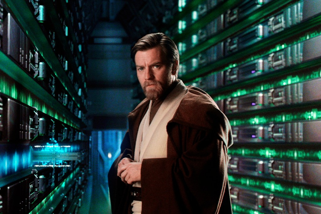"""""""Obi-Wan Kenobi"""" marks McGregor's first time donning the jedi robe since """"Star Wars Episode III: Revenge Of The Sith"""" in 2005."""