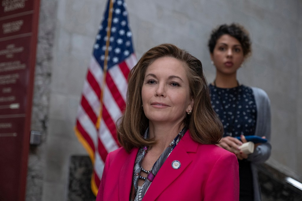 """Photo of Diane Lane as the US president in """"Y: The Last Man."""""""