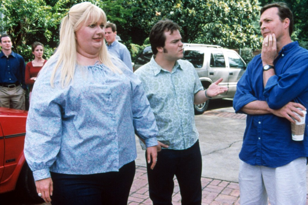 """Gwyneth Paltrow wearing a fat suit for """"Shallow Hal."""""""