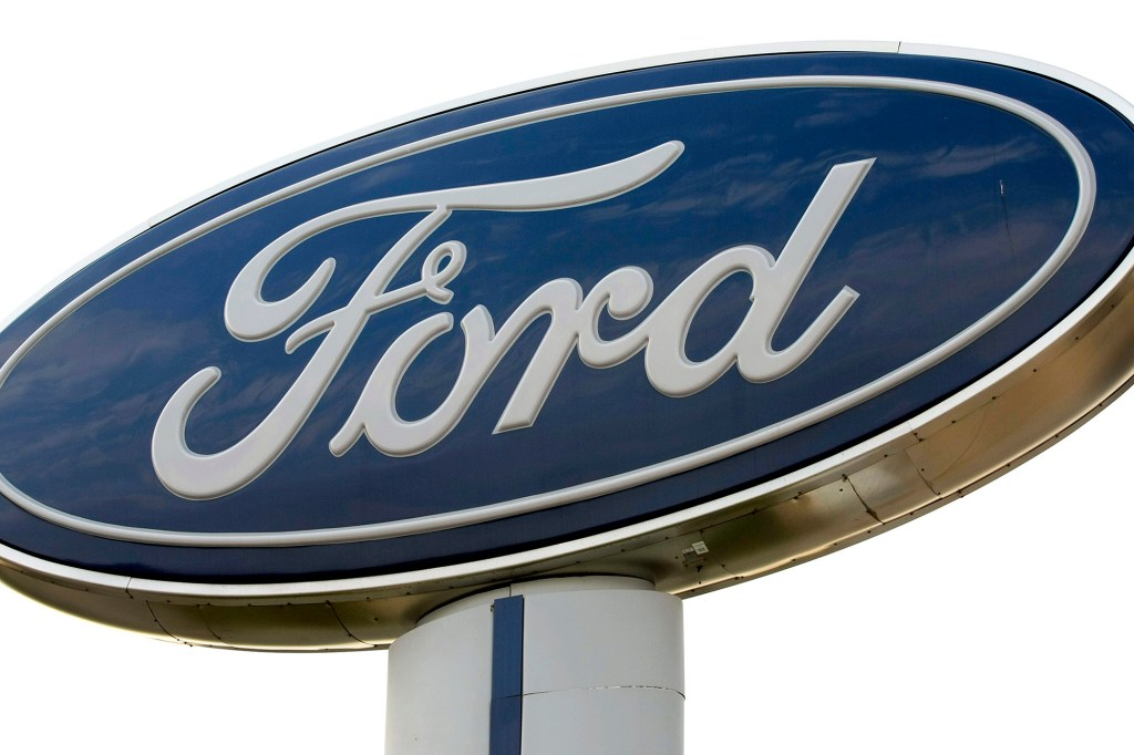 Ford sign outside a dealership