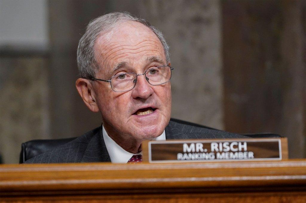 Sen. Jim Risch, R-Idaho