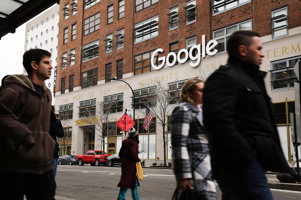 Google's office in Chelsea