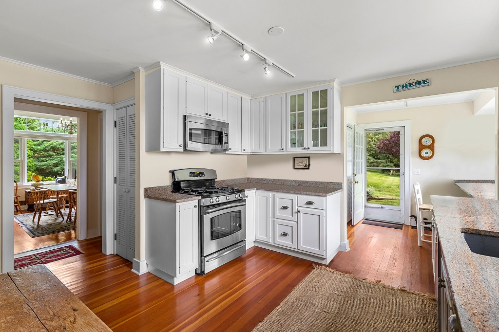 A kitchen at 5 Peconic Ave.