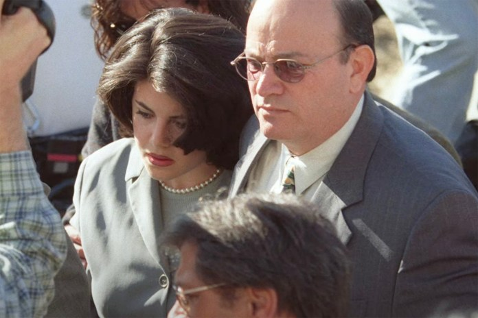 Lewinsky gained notoriety in the late 1990s when she was involved in a political sex scandal with then-president Bill Clinton.
