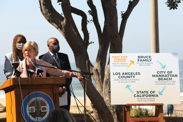 LA County Supervisor Janice Han first announced plans to return the land to the Bruce family in April.