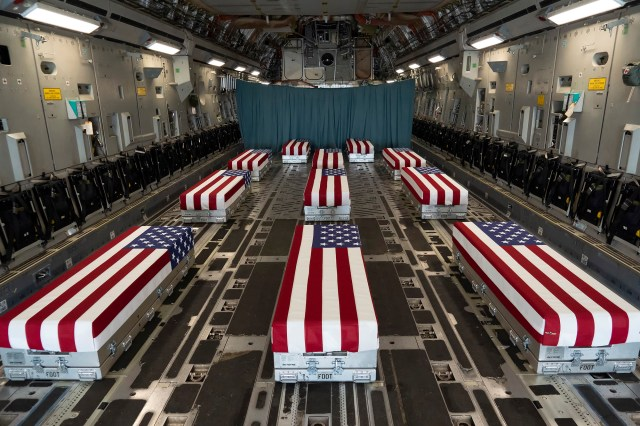 Thirteen service members were killed an Aug. 26, 2021 attack on Kabul's airport that also claimed the lives of at least 169 Afghan citizens.