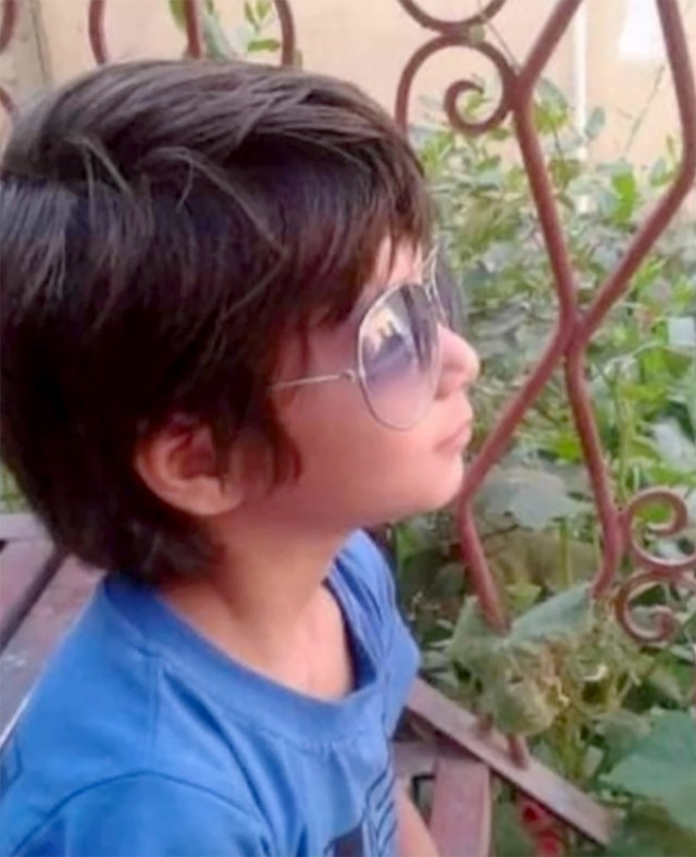 Farzad was 12 years old at the time of the attack.
