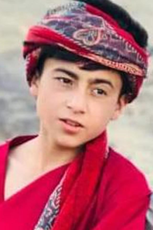 Faisal Ahmadi one of the children killed in the strike.
