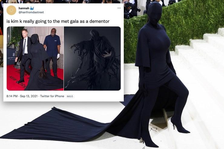 Kim Kardashian, AOC and Lil Nas X spawned the best Met Gala Twitter memes