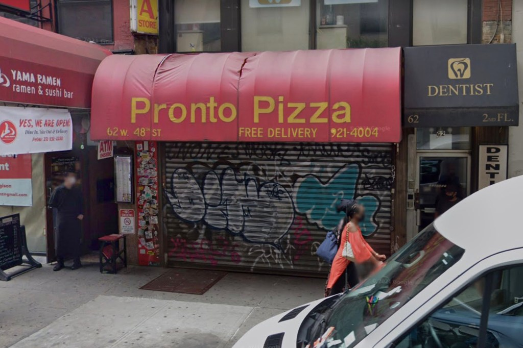 The lucky individual purchased the ticket at Pronto Pizza on W 48th Street in Manhattan.