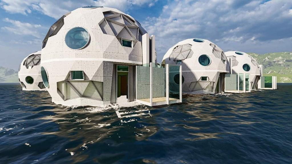 Aquatic home.