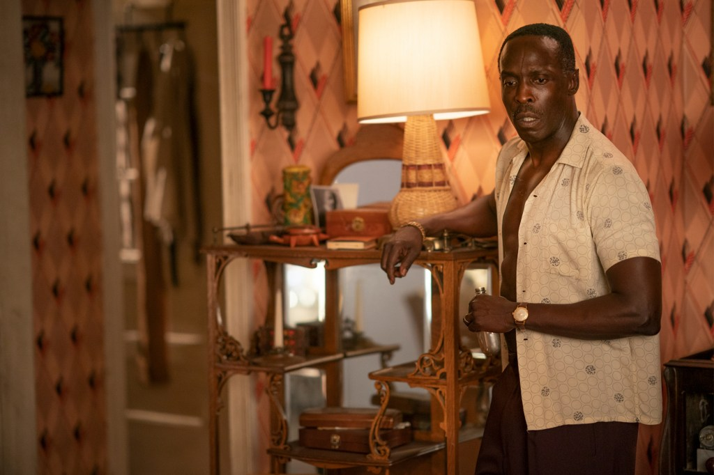 """Michael K. Williams in a scene in the show """"Lovecraft Country"""" that he co-starred in with Majors."""