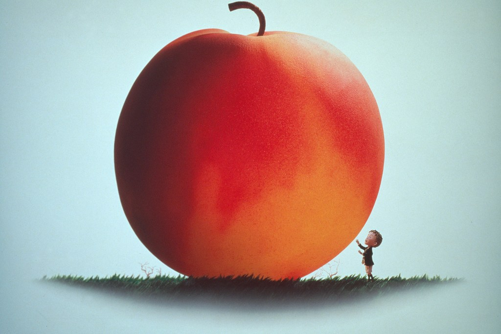 """Ronald Dahl's """"James and the Giant Peach"""" which was written in 1961."""
