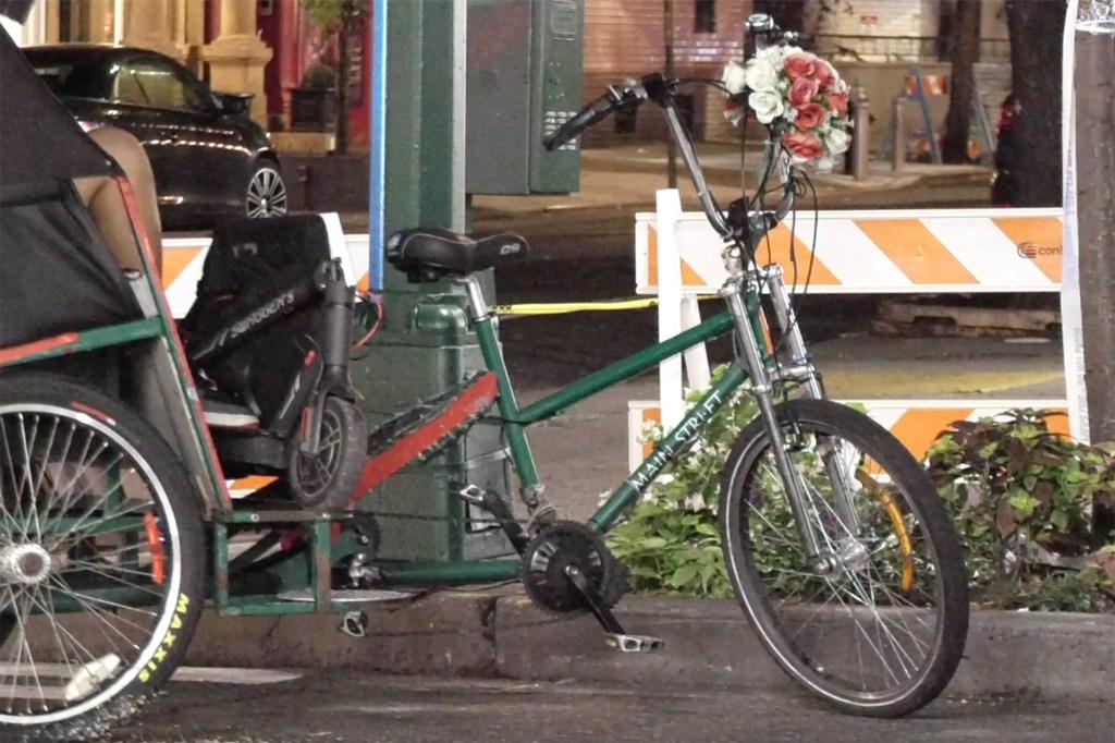 Pedicab.