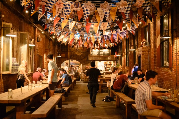 Radegast is a local favorite for the German celebration.