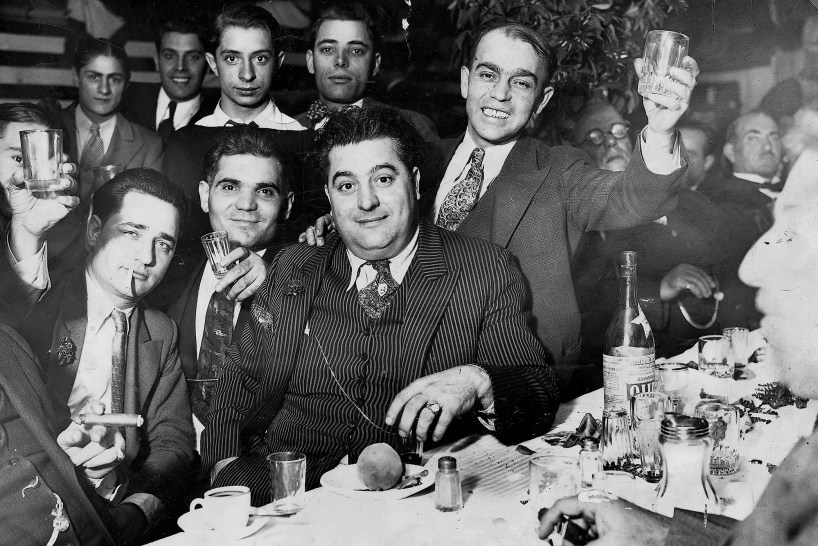 """The Boiardo crime family of Newark, first led by Richie """"The Boot"""" Boiardo (center) and then his son, Tony Boy."""