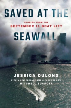 """The bookcover of """"Saved at the Seawall"""" by Jessica DuLong."""