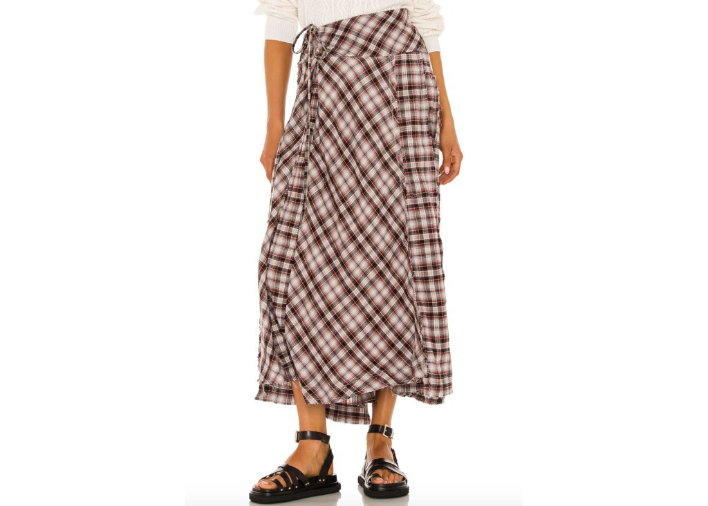 Free People Deep In Thought Maxi Skirt