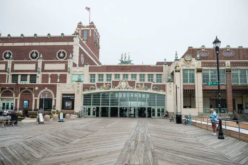 Some of Tony's most important flashbacks happened at this Jersey shore boardwalk.
