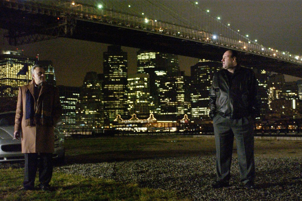 Whenever Tony would meet Johnny Sack by the Brooklyn Bridge, serious business would go down.