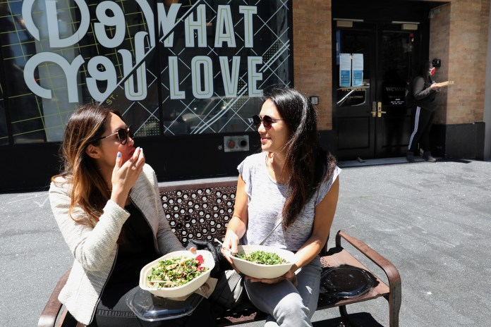 """Critics of the post called the Sweetgreen CEO """"fat-phobic."""""""