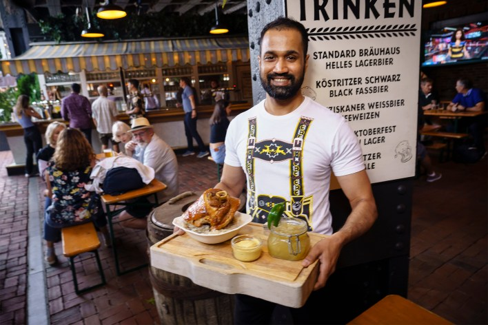 You can't go wrong spending Oktoberfest at The Standard.