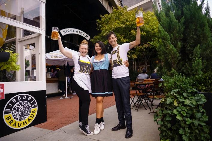 The Standard is a hotspot for Oktoberfest in Manhattan.