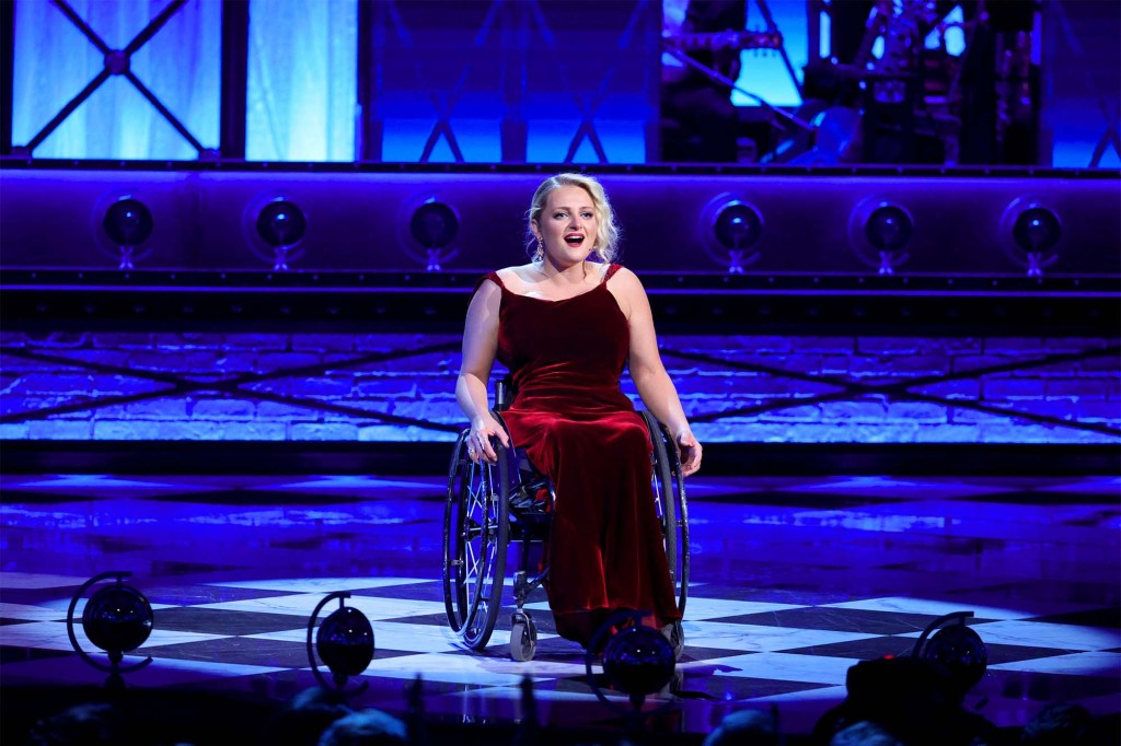Ali Stroker performs onstage during the 74th Annual Tony Awards.