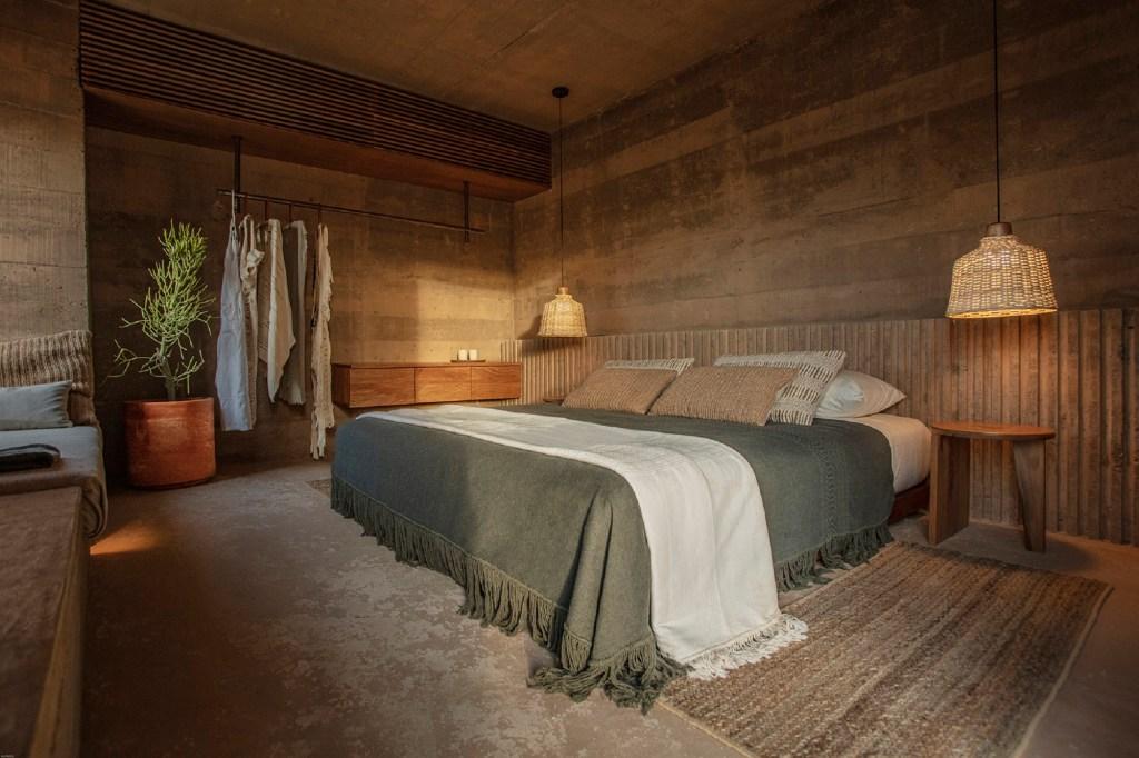 An interior shot of a room at Paradero Todos Santos.
