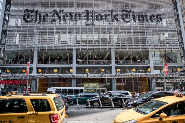 Three reporters from The New York Times were awarded the Pulitzer Prize in 2019 for their investigation and reporting of Donald Trump's finances.