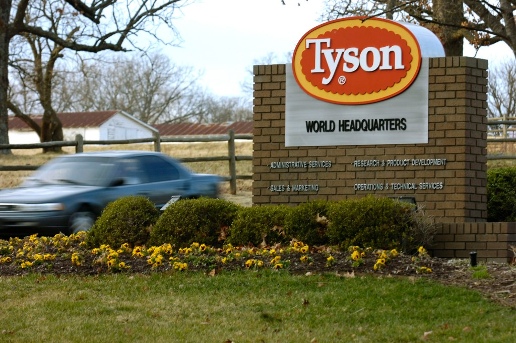 """Tyson Foods put out a statement labeling the White House's claims as """"inaccurate."""""""