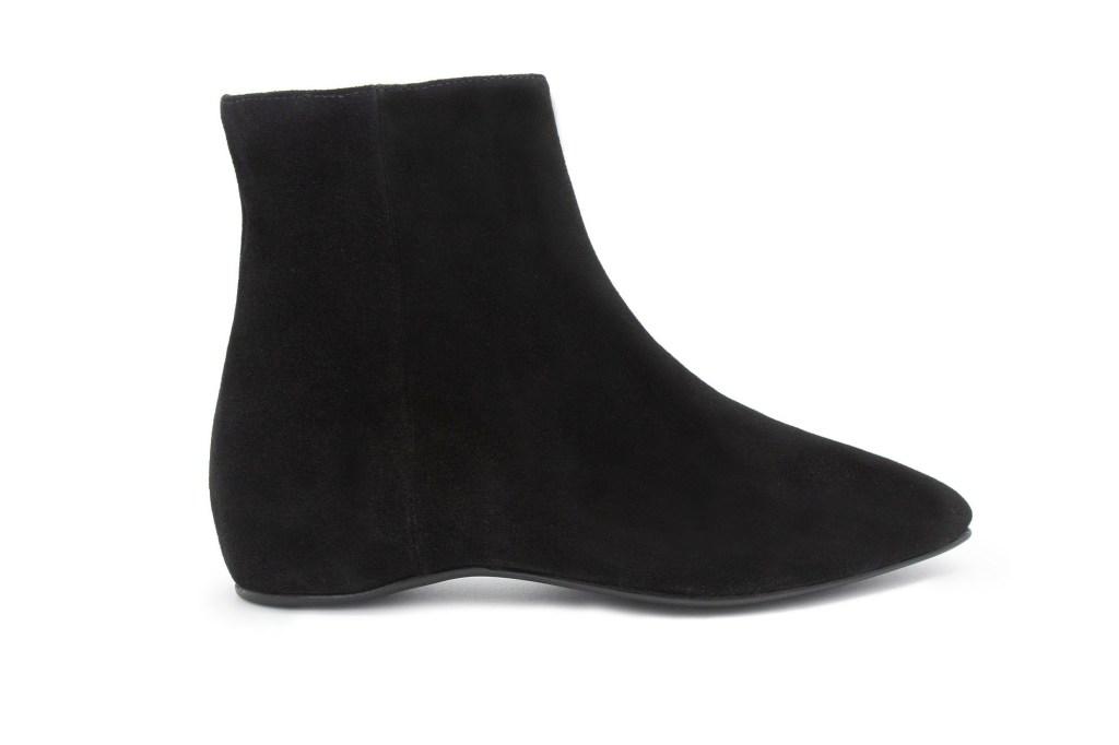 A single black bootie