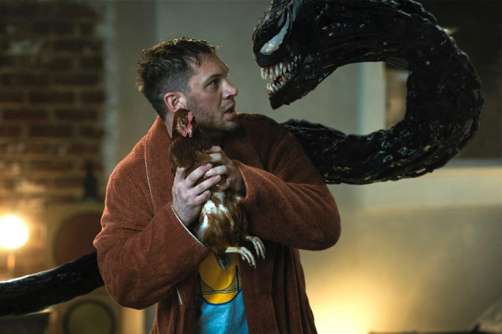 Eddie Brock (Tom Hardy) and Venom