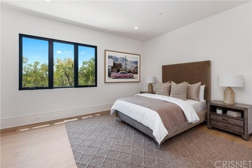 One of six bedrooms.
