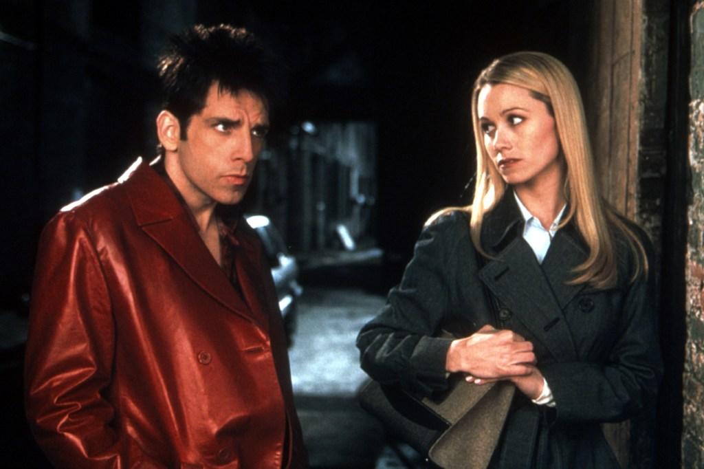 Ben Stiller and Christine Taylor in the 2001 film.