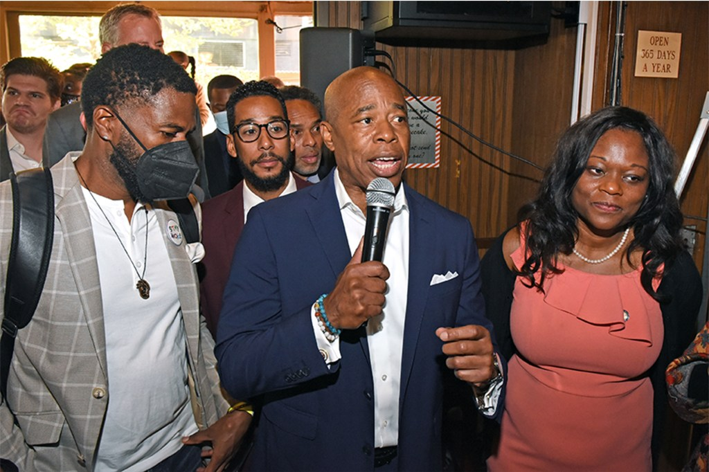 According to the city Campaign Finance Board, Democratic Mayoral candidate Eric Adams has raised nearly ten times the amount of his opponent, Curtis Sliwa.