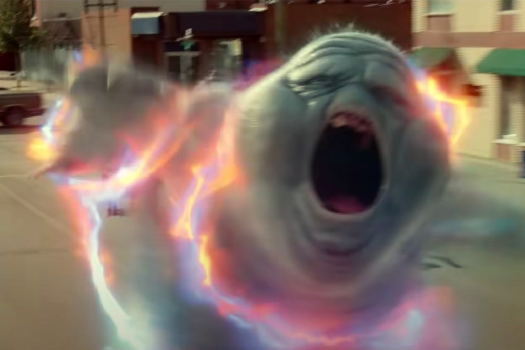 """The ghouls are angry and green as ever in """"Ghostbusters: Afterlife."""""""