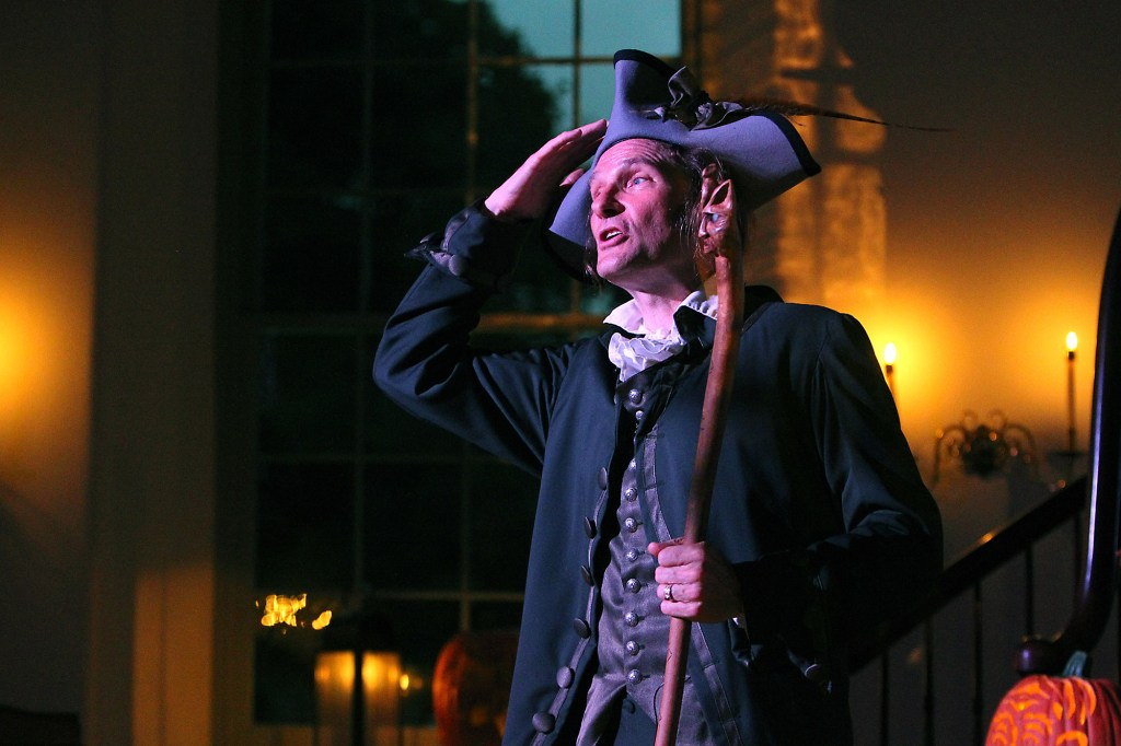 """Dramatic performance of Washington Irving's classic tale, """"The Legend of Sleepy Hollow"""" will take place all month long."""