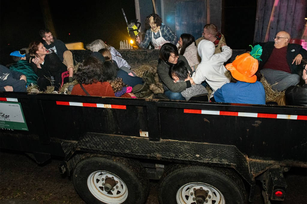The Sleepy Hollow hayride is one of the area's most popular events.