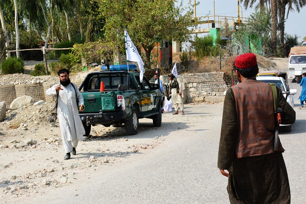 Four people were killed on October 2, 2021 -- two members of the Taliban and two civilians-- by a gunman in Jalalabad.