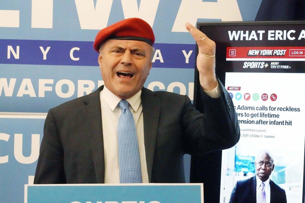 Curtis Sliwa, Republican NYC Mayoral candidate