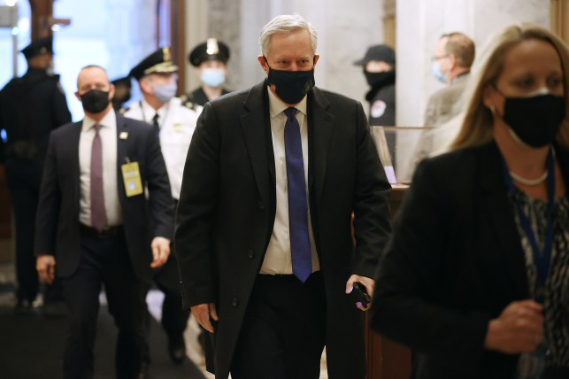 Former White House Chief of Staff Mark Meadows.